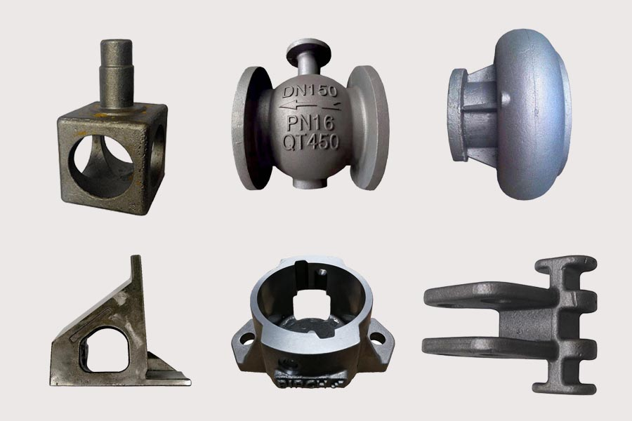 Cast Ductile Iron Castings